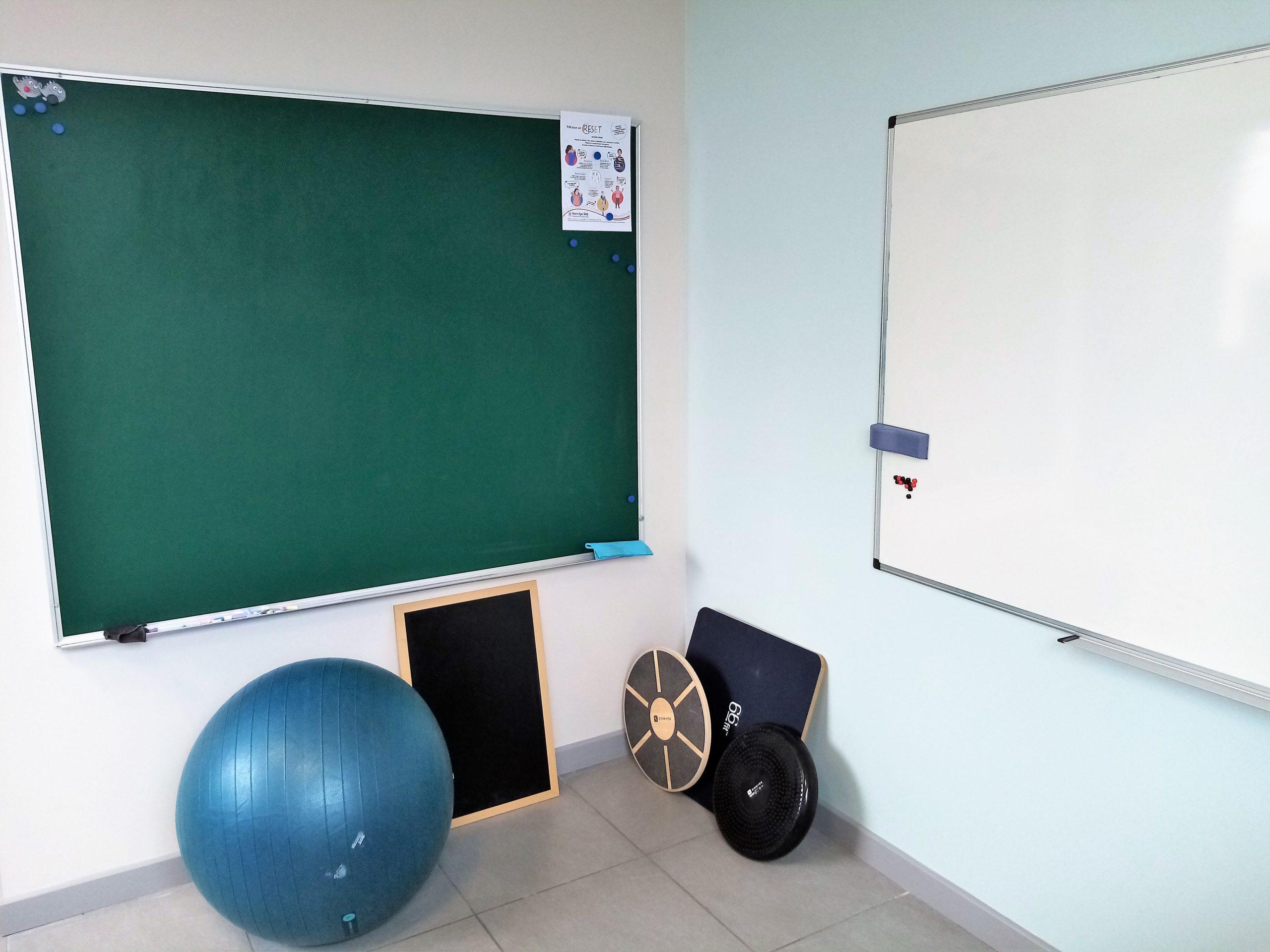 graphothérapie salle